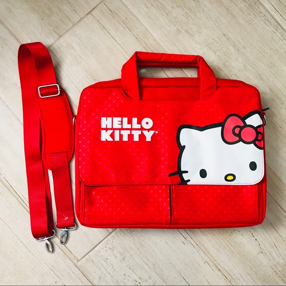 Hello Kitty Laptop Case Bag NWT 3efd8374ffac2
